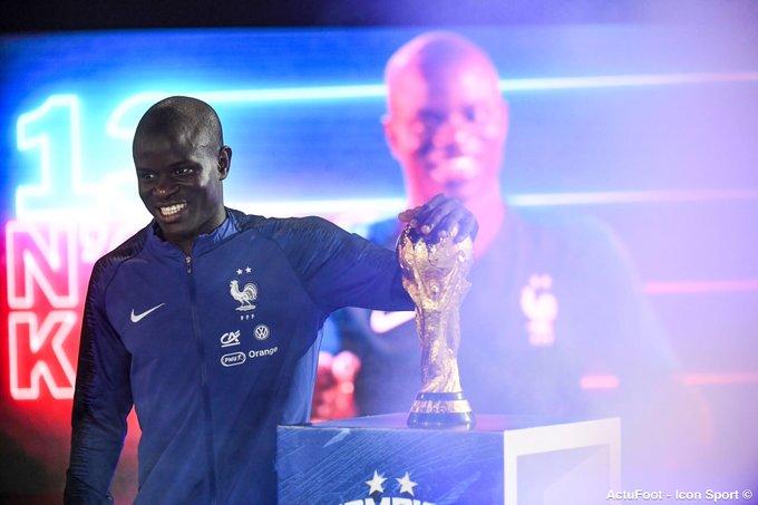 's Media: RT @ActuFoot_: Joyeux anniversaire à notre champion du monde N'Golo Kanté qui fête aujourd'hui ses