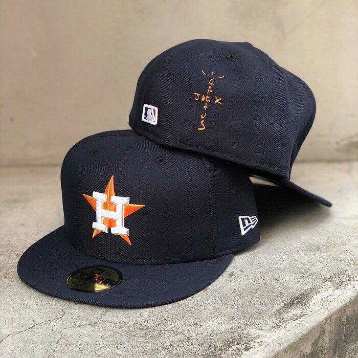 Travis Scott New Era Cap 59FIFTY Houston Astros Hat CONFIRMED Cactus Jack