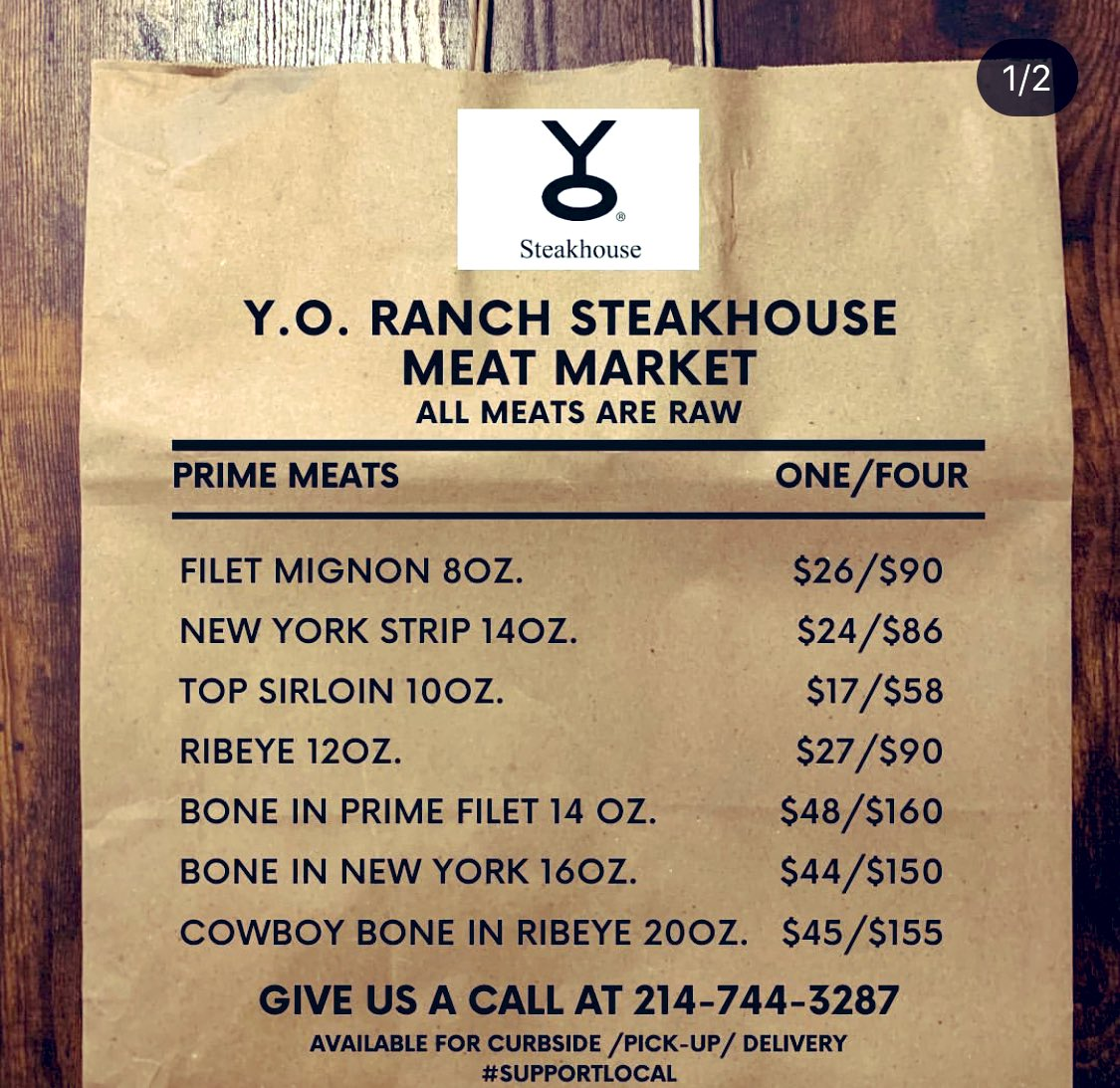 All you grillers! 🥩I see ya on your patios and rooftops. It took #QuarantineLife for me to finally meet my neighbor. 👋 @YORanchSteaks is delivering meat and major wine specials. 214-744-3287  #supportsmallbusiness #StayAtHomeAndStaySafe