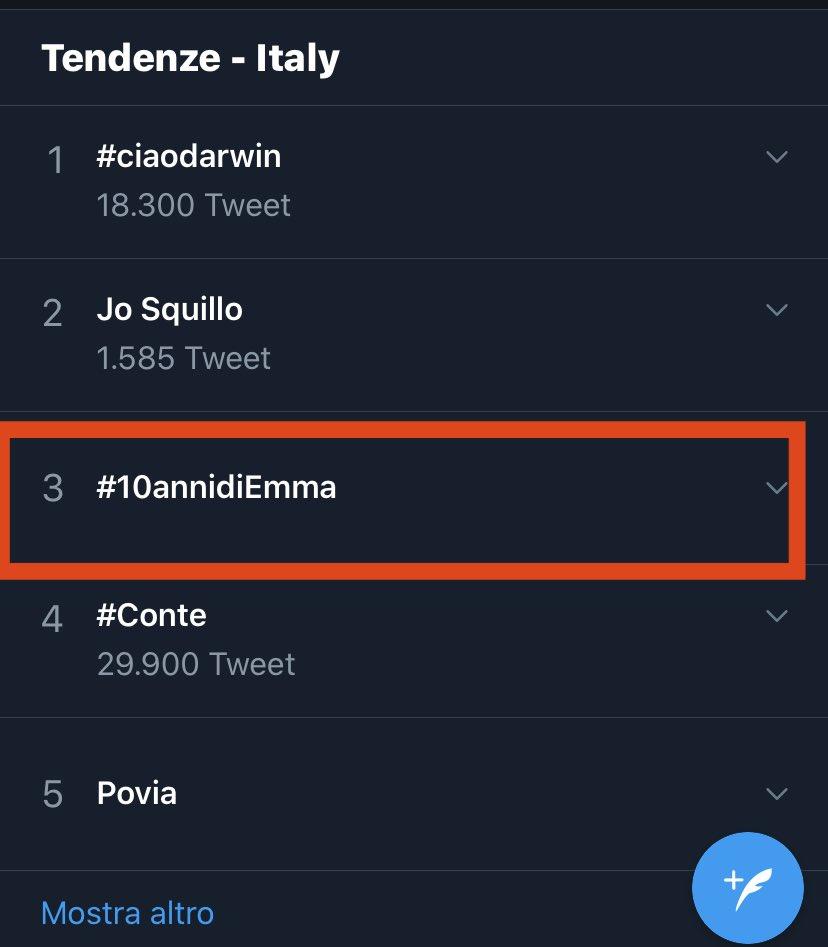 #10annidiEmma