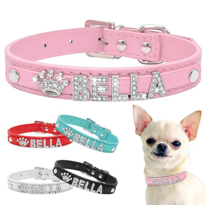 's Media: Dog's Bella Crystal Collar #ilovemydog #dogs https://t.co/33kWUcIOd6 https://t.co/enY2DZdQy4