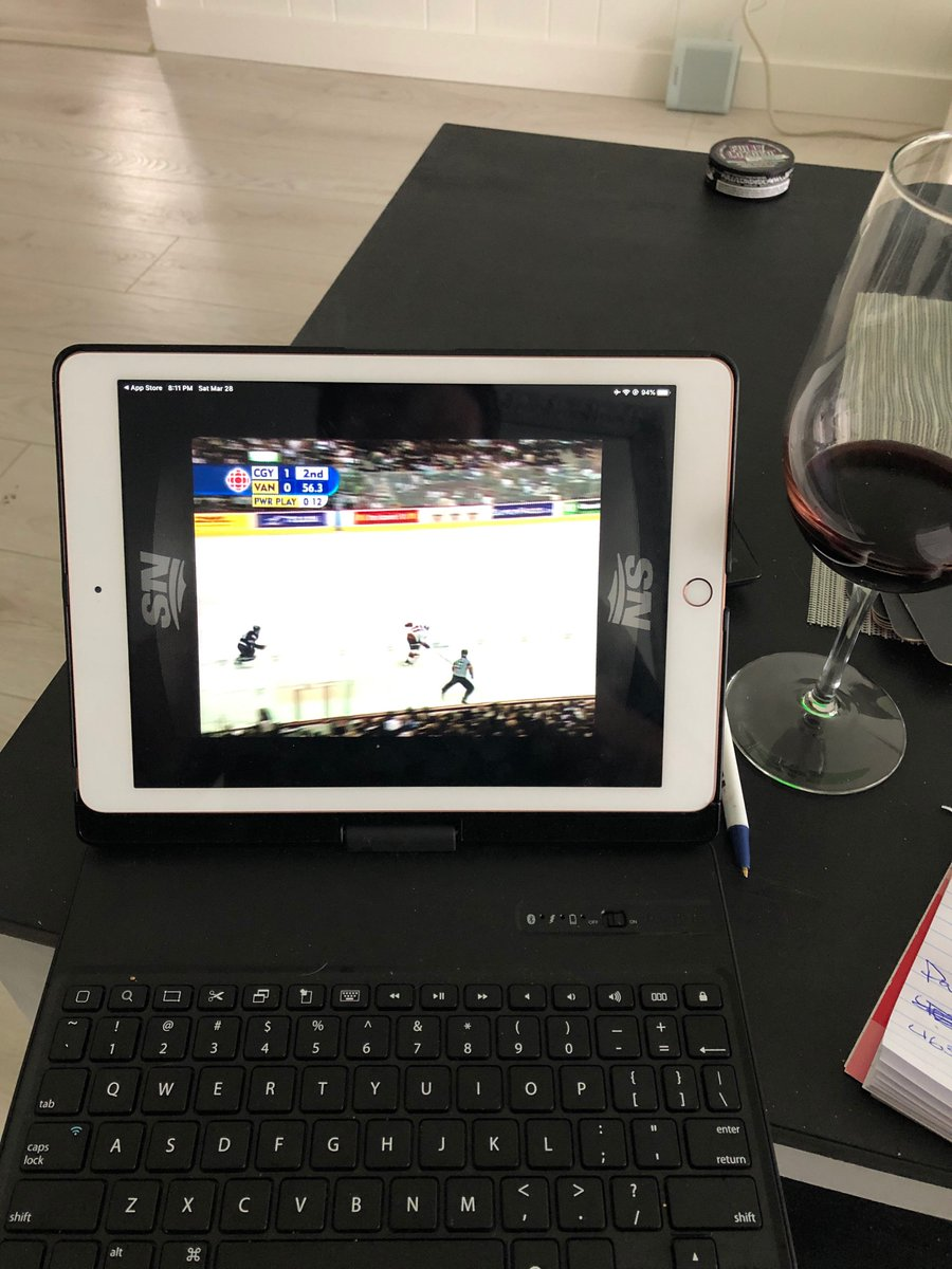 Folks...Let's watch some hockey!