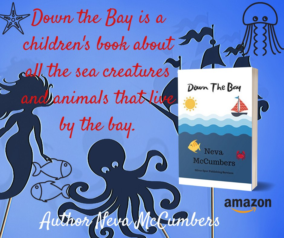 "Down the Bay Kindle Edition  by Neva McCumbers: Great book on educating children about the little creatures living in the bay. All children should enjoy the different characters that makeup ""Down the Bay."" https://www.amazon.com/Down-Bay-Neva-McCumbers-ebook/dp/B07T56Z32Y/ref=tmm_kin_swatch_0?_encoding=UTF8&qid=1585354958&sr=1-1 … #children, #ocean, #seacreatures, #education pic.twitter.com/eNvTKLCQxe"