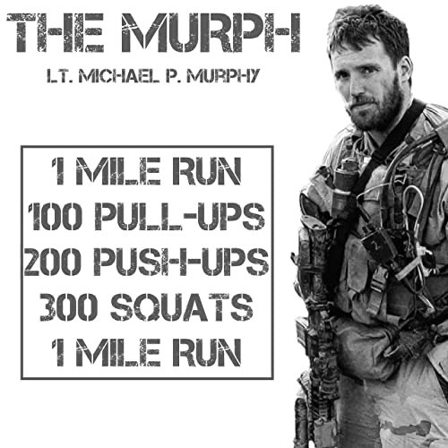 Did a MURPH today and managed a sub-50 minute time, which I was stoked about! #fitness pic.twitter.com/H3UULOqbaq