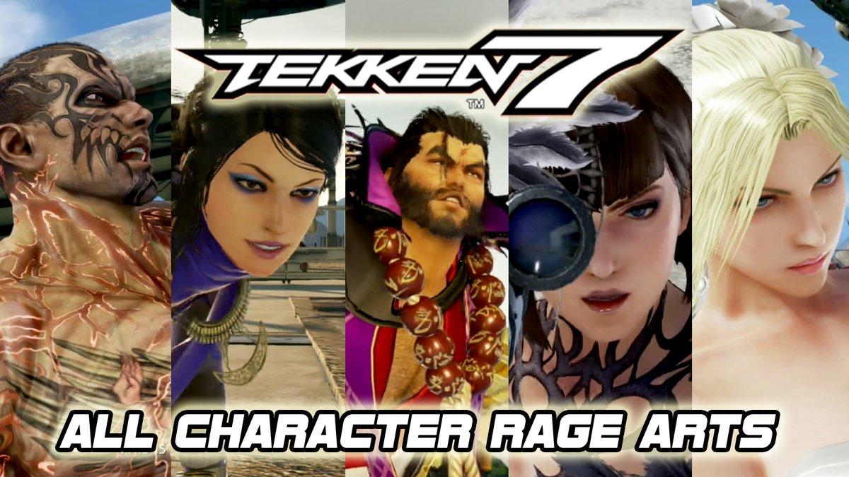 Coouge On Twitter All Tekken 7 Rage Arts Including All Dlc Characters Tekkengamercom Which Characters Would You Like To See In Tekken 7 Season 4 Watch Https T Co Ekitin3atx Https T Co Rdsdkdewwv