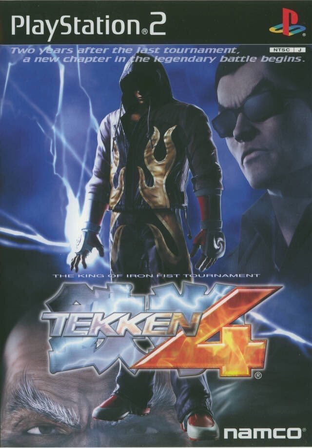 Tekken 4 for the PS2 was released on this day in Japan, 18 years ago (2002)