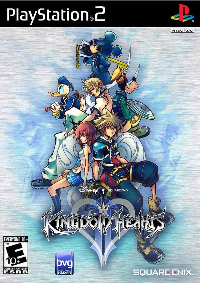 Kingdom Hearts II for the PS2 was released on this day in North America, 14 years ago (2006)