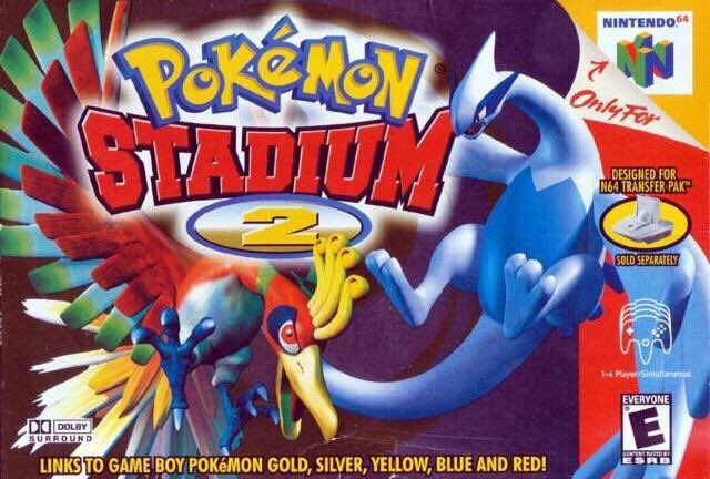 Pokemon Stadium 2 for the N64 was released on this day in North America, 19 years ago (2001)