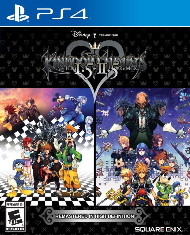 Kingdom Hearts HD I.5 + II.5 Remix for the PS4 was released on this day in North America, 3 years ago (2017)