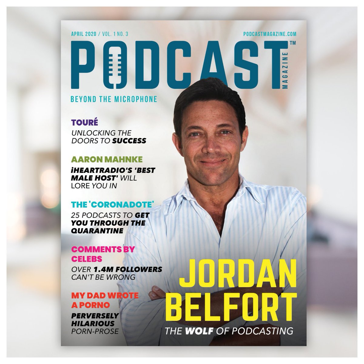 @thepodcastmag April Issue hits your app SOON — featuring @wolfofwallst @toureshow @amahnke @commentsbycelebs @mydadwrotea and more more MORE .... also, I made it into this one too  swipe for a preview  • #commentsbycelebs #toure #wolfofwallst #jordanbelfort #aaronmahnkepic.twitter.com/JQcND5k6SP