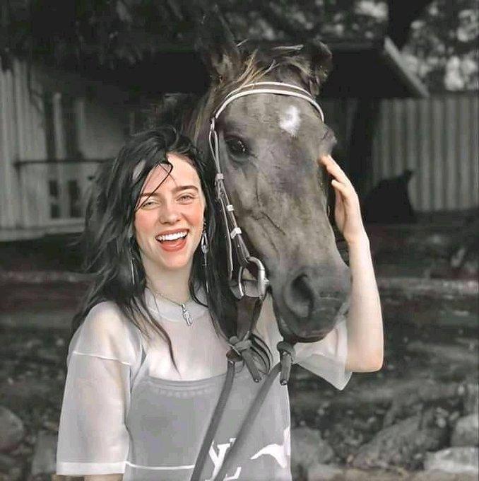 A rare Photo of Billie Eilish Holding Vice Ganda   ma Happy Birthday