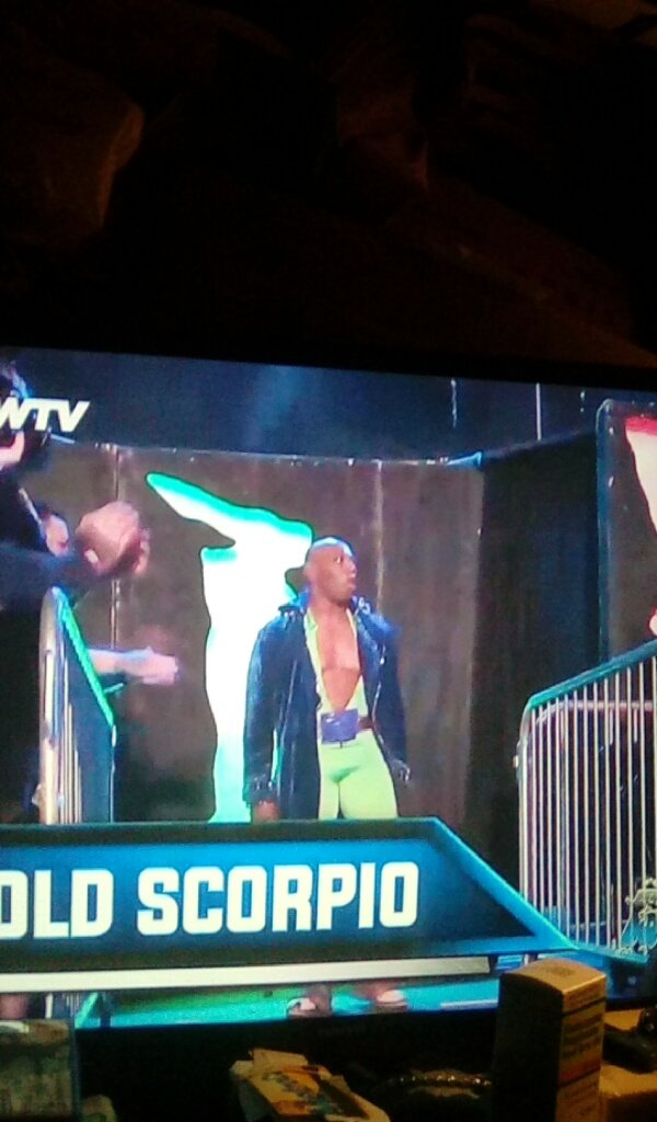 @ToocoldScorpio1 is here for @aiwrestling #babyitscoldoutside #WatchIWTVpic.twitter.com/B8Oqbv3awK