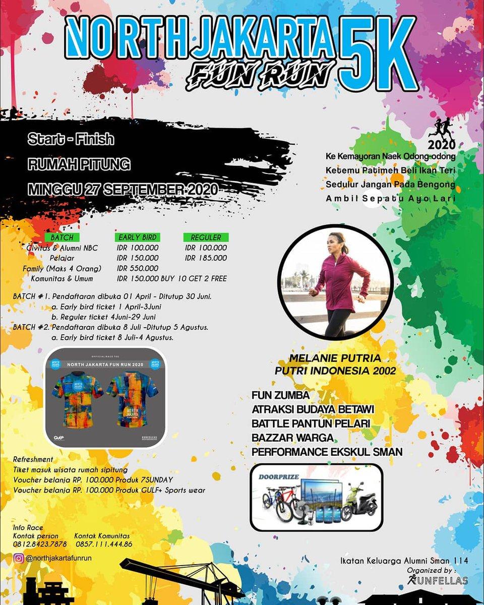 North Jakarta Fun Run • 2020