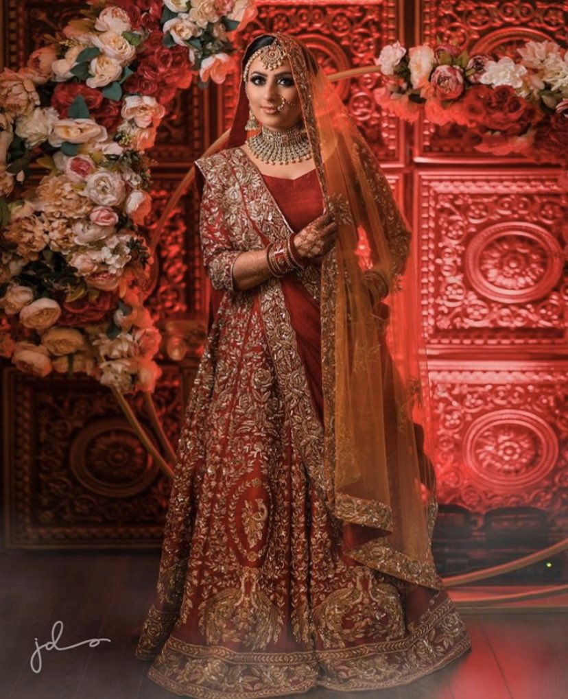 The soft floral colours created that perfect setting for our beautiful bride Sukh on her very special day #wedding #weddingdesigns #wedding #weddingevents #indianfashion #anarkali #lengha #indianfashion #indiancouture #indianblogger #style #indiandesigner #fashion #vancouvermuapic.twitter.com/aF61f2J97D