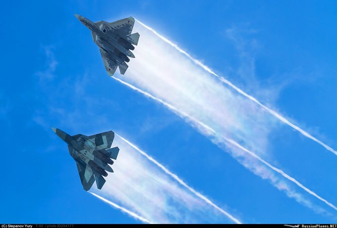 Su-57 Stealth Fighter: News #6 - Page 5 EUPYfqGUcAA3Yqp?format=jpg&name=small