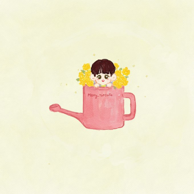 : RT @Merry_Tominto: #AB6IX #임영민  Watering can and the Flower ~ 🌻🌼🌸 https://t.co/8tRl4D3Rjy