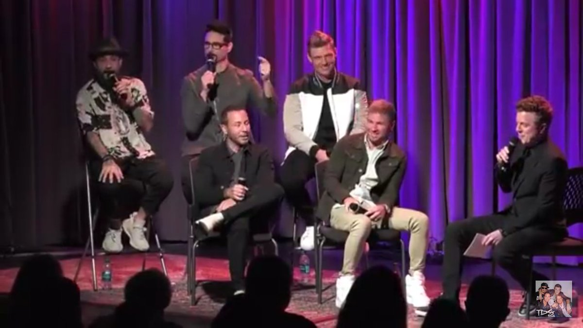 If you need a @backstreetboys  pick me up tune into their #Grammys  museum interview with @JoJoWright  on @YouTube  #BSBARMY  #KTBSPA  #27YearsOfBSB  #BSBDNA2020  #DNAWORLDTOUR  #QuarantineLife  💻