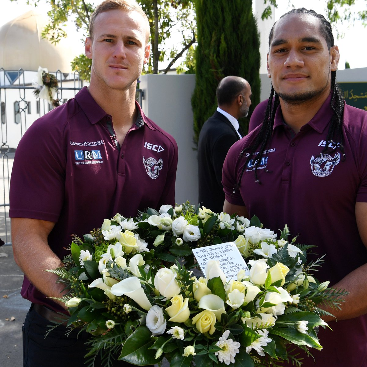 A year on  We reflect on this beautiful video by @katiebrownaus and @NRLcom of the time our Club and the @NZWarriors, supported the Christchurch community - https://seaeagles.com.au/news/2020/03/29/sea-eagles-and-warriors-help-christchurch-heal/…  #ManlyForever #TheyAreUs #Christchurchpic.twitter.com/ZkTmFf3byg