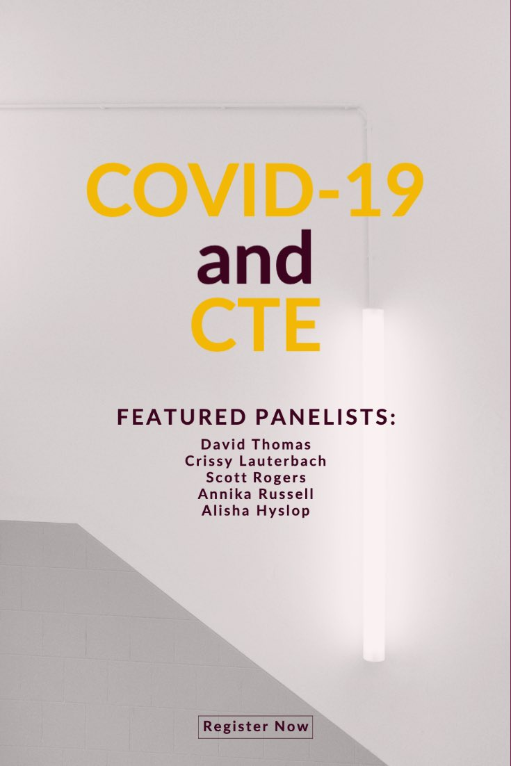 Join us today to chat with CTE leaders about their pivots and agile responses. #CareerTechEd