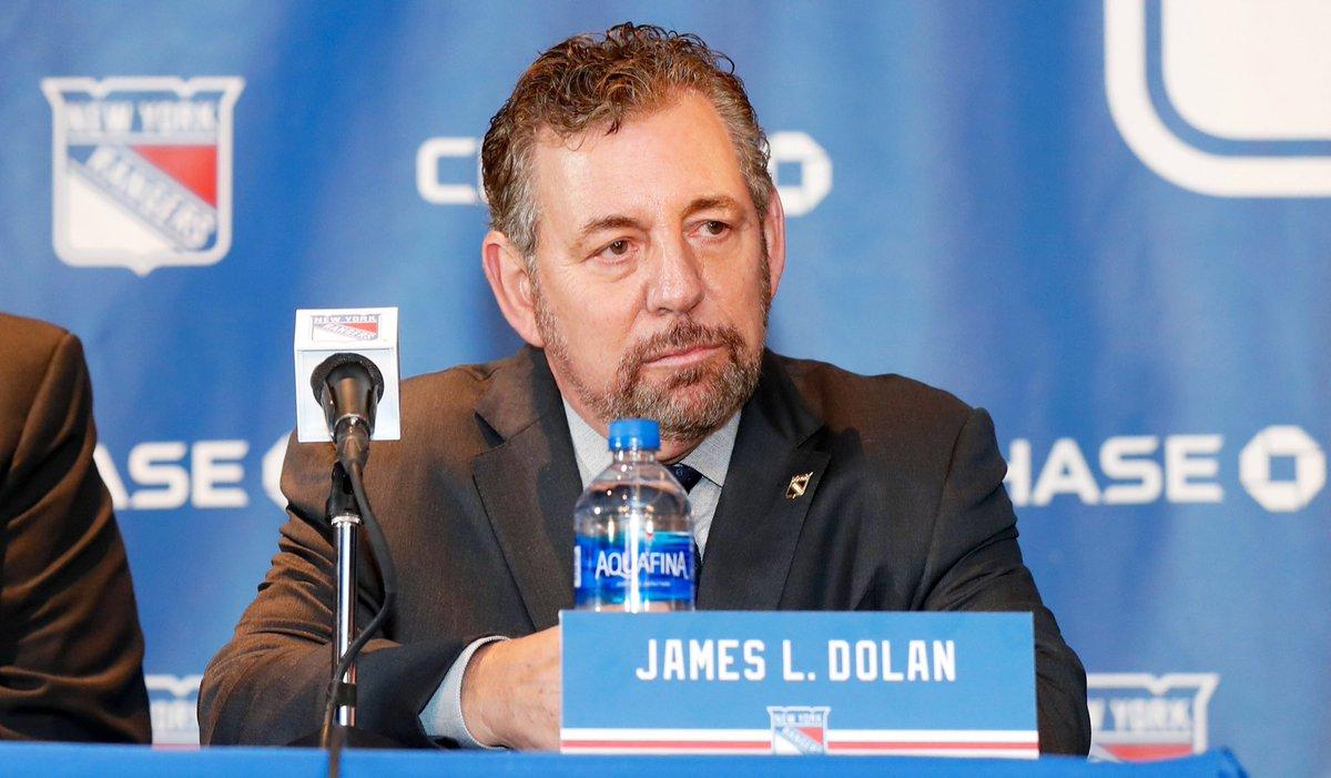 MSG Company Executive Chairman & CEO James Dolan has tested positive for COVID-19: tsn.ca/1.1461493