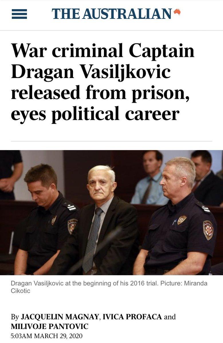 Serb #WarCriminal captain Dragan to enter politics?! #NothingSurprisesUs #sick #JusticeForVictims