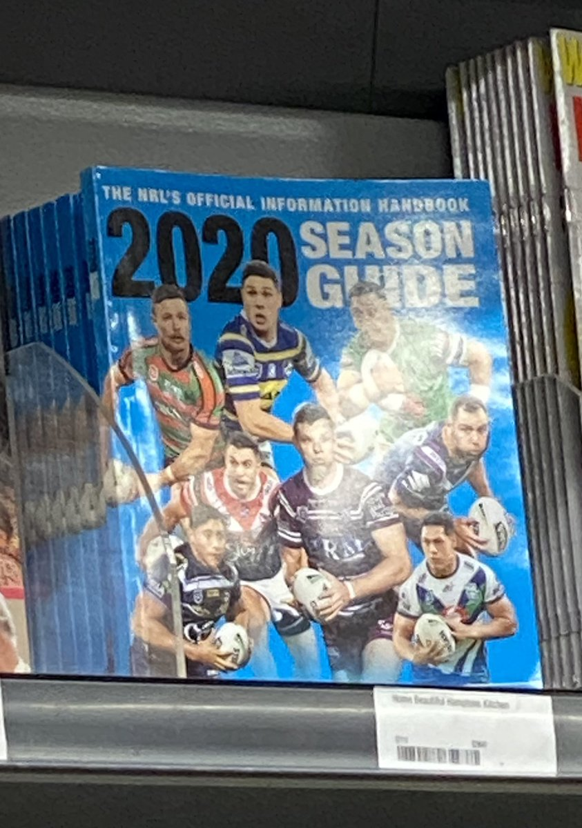Kinda think @woolworths should be removing these off the shelf #NRL pic.twitter.com/BboqCdES0c
