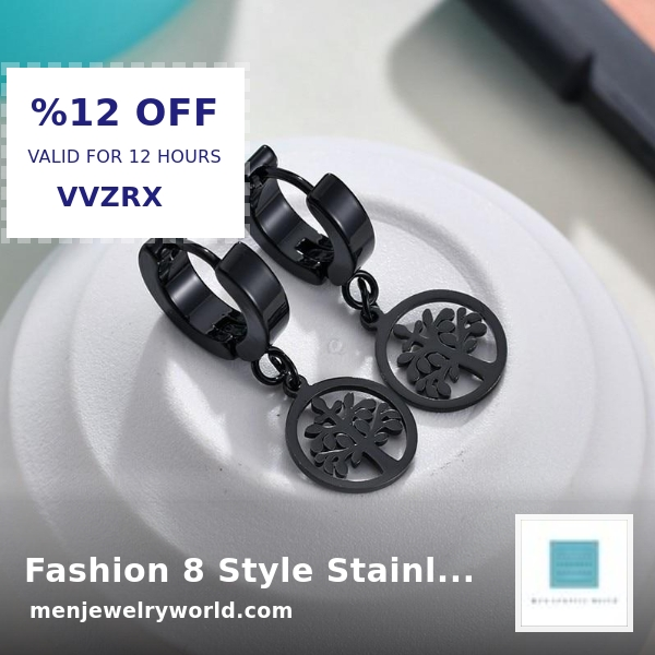 Check out this product  Fashion 8 Style Stainless Steel Tassel Pendant Earrings For Men   by YANGQI Official Store starting at $3.99.  Show now https://shortlink.store/PBlVZqtxG pic.twitter.com/gOIprRpfhU