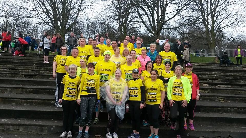A blast from the past! #wakefield10k 5 years ago today ~ 29th March 2015' #yellowarmy💛🖤 in force on this one! Are you on this photo? Tag away! Do you remember the run? If you have any photos you would like to share it would be great to see them. #keeprunning #running