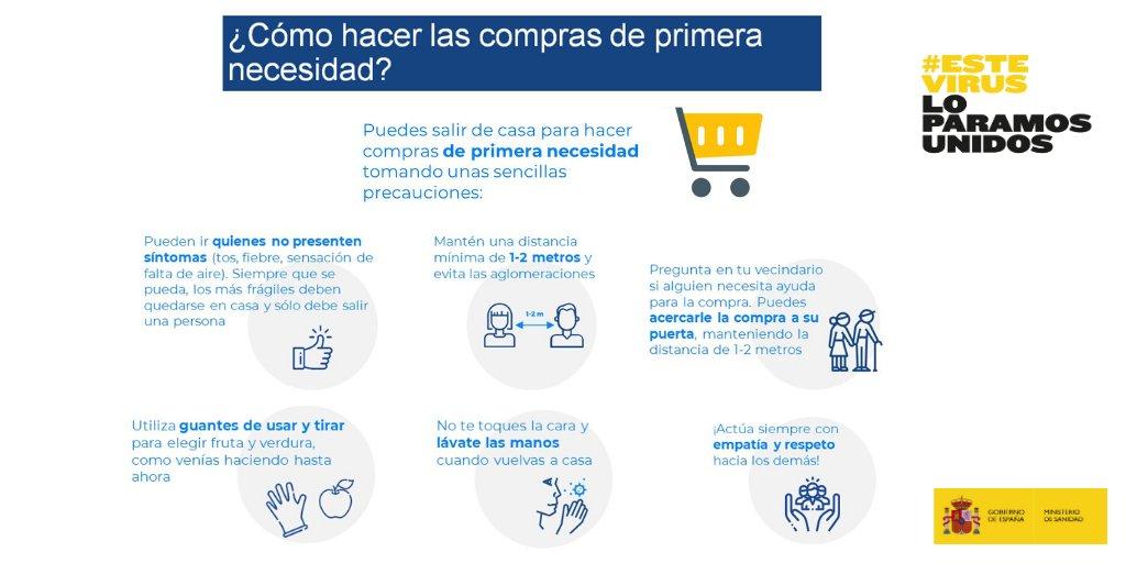 Twitter Salud Pública. Recomendaciones frente al #COVID19 para...: abre ventana nueva