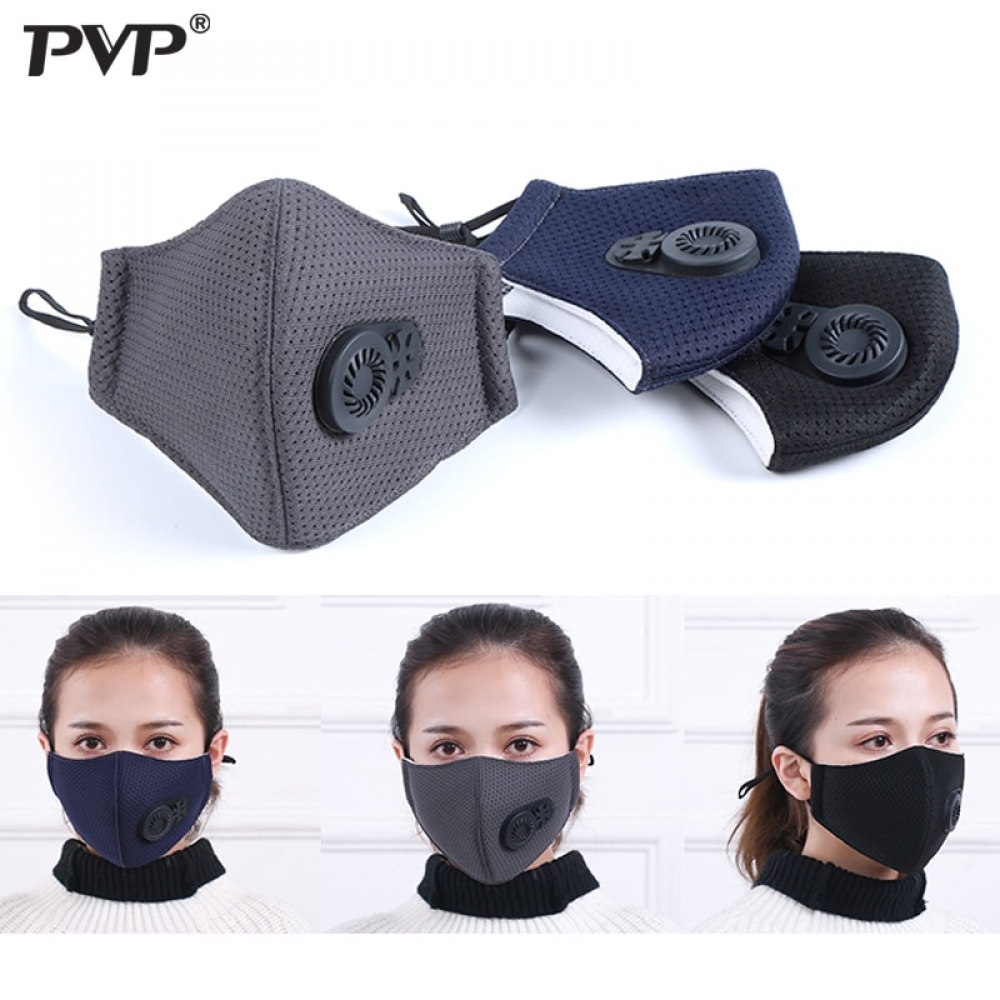 #like4like #instafashion PM2.5 Anti Air Dust and Smoke Pollution Mask, with Air Valve, Washable Mouth Mask Made