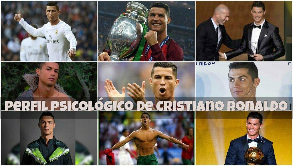 #Perfil psicológico de Cristiano #Ronaldo #PSICOLOGIA