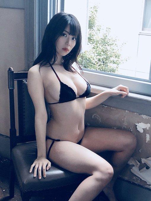 グラビアアイドル鈴木ふみ奈のTwitter自撮りエロ画像9