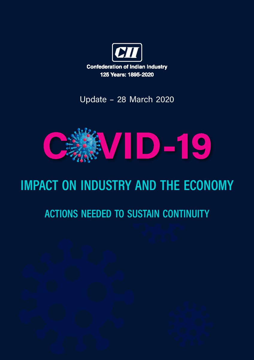 What urgent steps do we need to take to sustain continuity amid #COVID19  outbreak? Here are details of suggestions to mitigate #coronavirus  impact on Industry & the economy.➡️