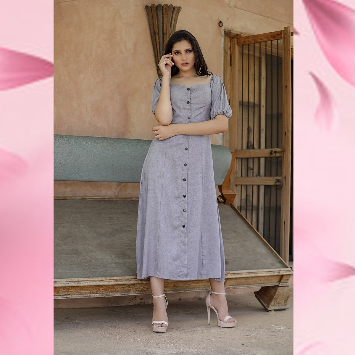 In a world full of trends, always remain a classic.💜 #newcollection #fashion #style #moda #new #shopping #love #ootd #instafashion #fw #outfit #handmade #outfitoftheday #fashionblogger #spring #summer #madeinindia #springsummer #shoes #fashioninsta #dress #like #follow