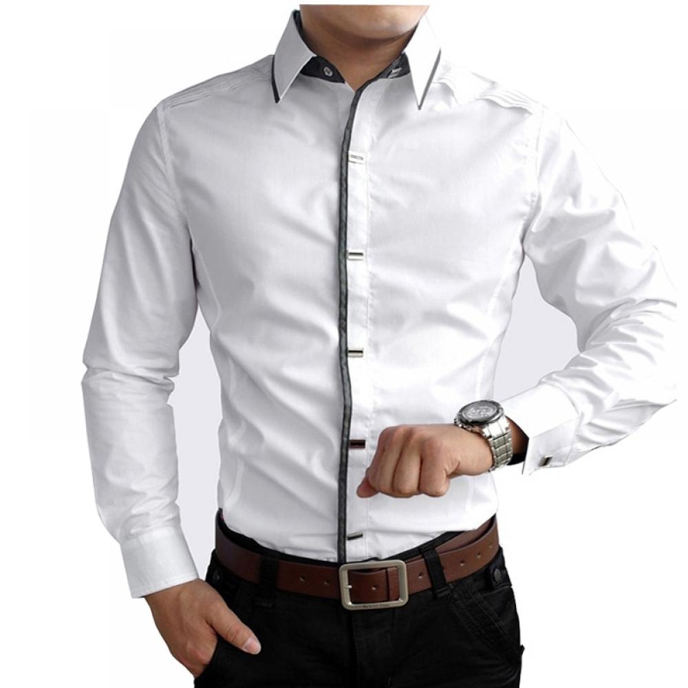 #model #cool Men's Cotton Formal Shirt