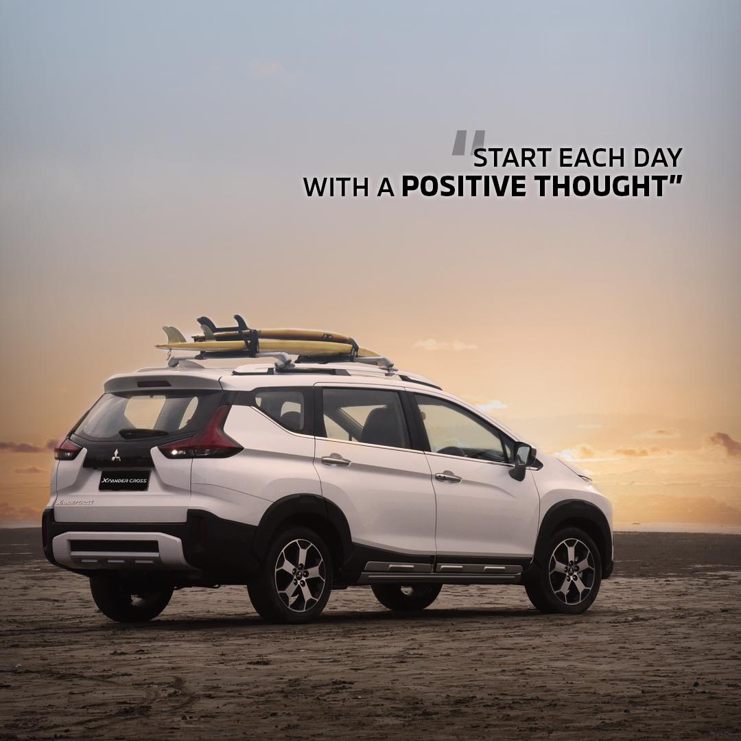 Tetap menjaga kesehatan dan selalu berpikir positif jika semua yang sedang terjadi akan segera berakhir. Stay safe and keep strong Mitsubishi Family 💪 #MitsubishiMotors #XpanderCross