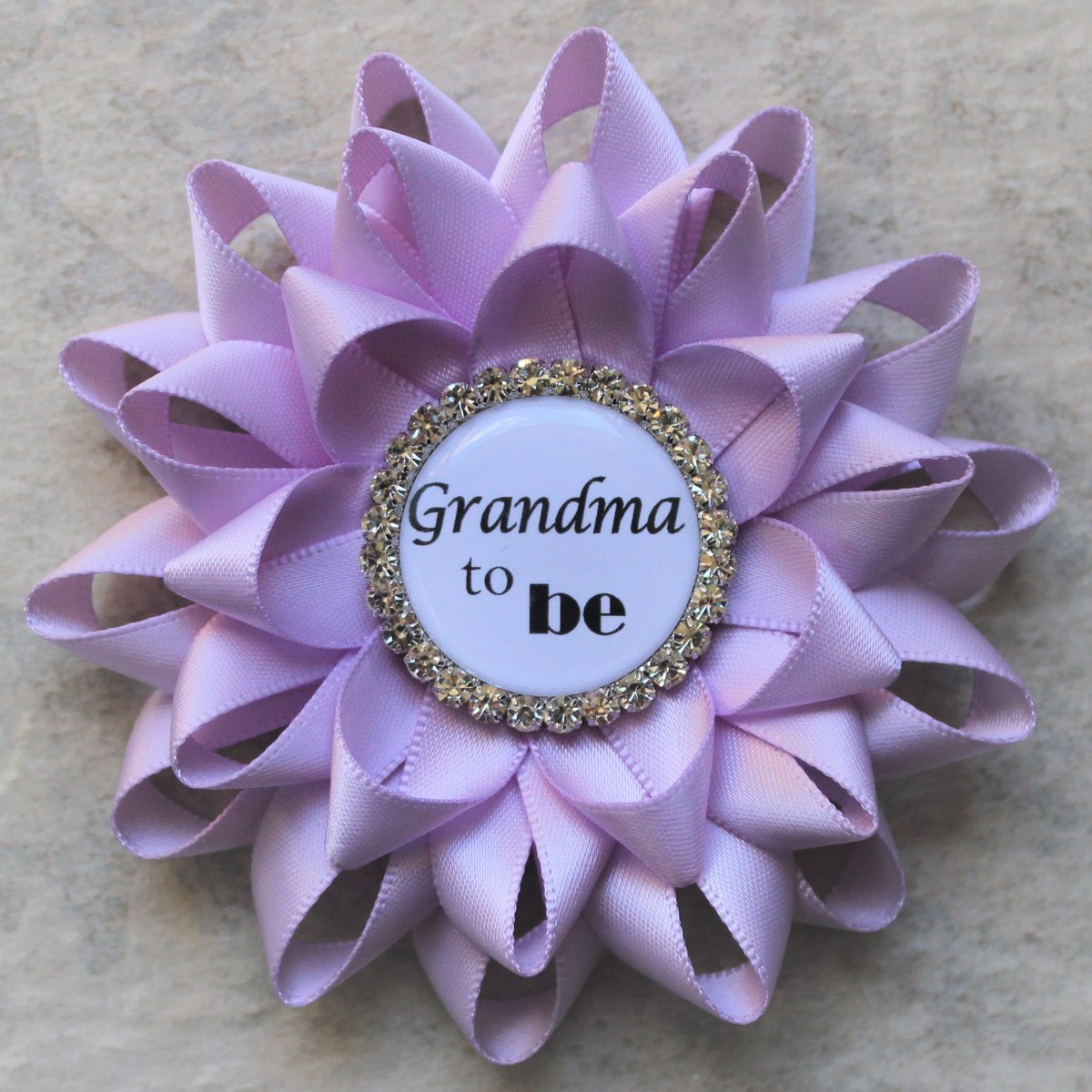 Lavender Baby Shower Decorations, Light Purple Baby Girl Shower, Grandma to Be Pin, Girl Baby Shower Pins, Orchid, Lilac  #store #shopsmall #sale #shopping #etsy #etsyshop #shop