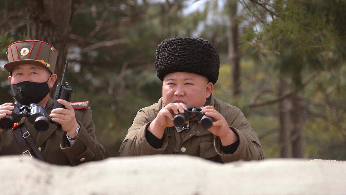 North Korea fires missiles into sea amid coronavirus pandemic