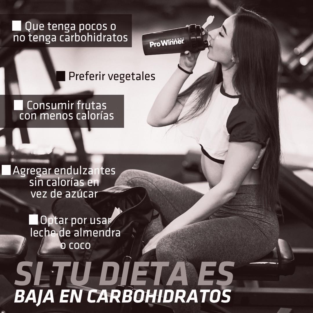Sigue manteniendo tu nutrición y tu estilo de vida, recuerda que depende nuestros objetivos es la nutrición que necesitamos. Te compartimos algunos puntos a tomar en cuenta si tu dieta es baja en carbohidratos. 💪😎 #ProWinner® 👊🔥 #Suplementos #fitness #nowornever #noexcuses