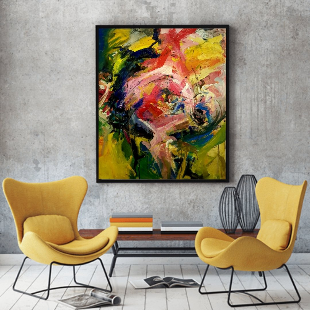 Virtual display of my work Acrylic on canvas #Inspiration #Art #Painting #Color #Acrylics #Artist #AbstractArt #AbstractExpressionism #Spirituality #ModernPaintings #ModernArt #artistsontwitter #shahnilaMughees #ContemporaryPaintings #interiordesignpic.twitter.com/ScPw8Jg2Bt