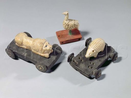 Children's Toys, a Hedgehog, a Lion and a Dove Susa, Iran, Elamite Period, C.1150 BC, @MuseeLouvre<br>http://pic.twitter.com/zighk2Atbm