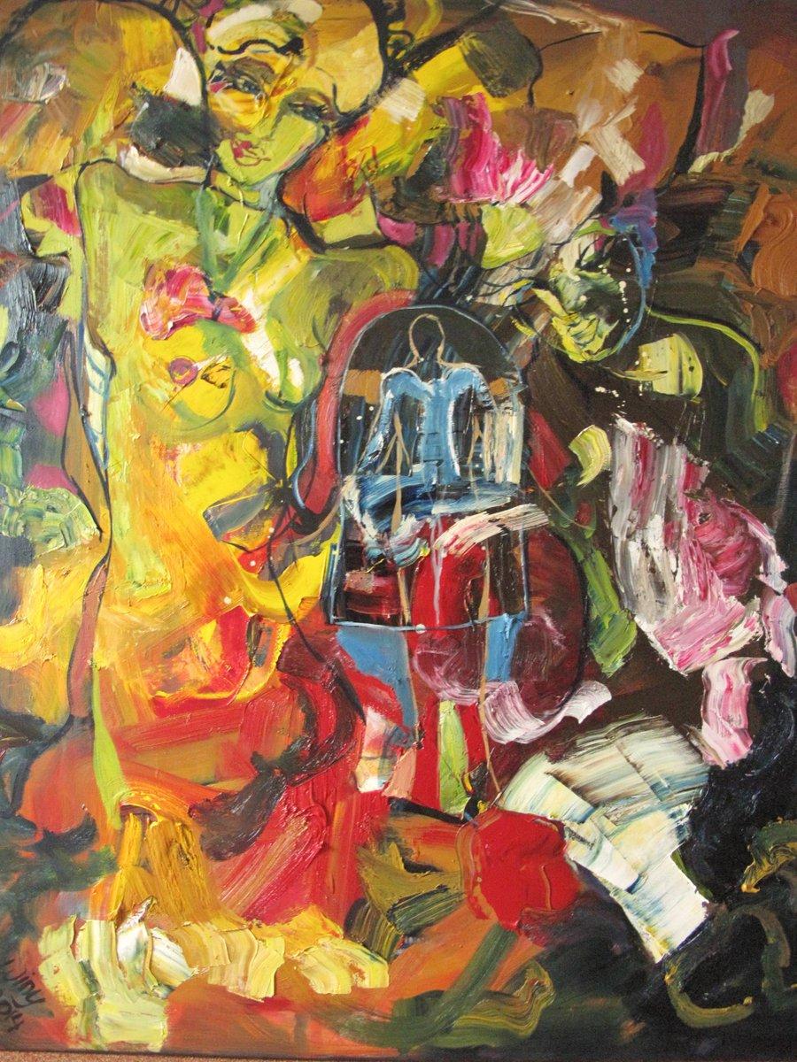 Moondance, Winy Jacobs https://www.saatchiart.com/art/Painting-Moondance/406084/2025207/view… #abstractexpressionism #winyjacobspic.twitter.com/pNV404TlOc