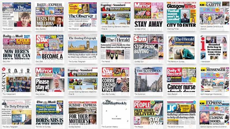 Read your morning newspaper online using our digital #library. #StayAtHomeSaveLives #Coronavirus  Browse the newspapers here ⬇️