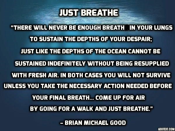 Just Breathe  - http://BrianMichaelGood.com/books  #anxiety #depression #mentalillness #SuicideAwareness #recoveryisworthit #suicide #depressionrecovery #StayAtHomepic.twitter.com/QMxrdmTTMA