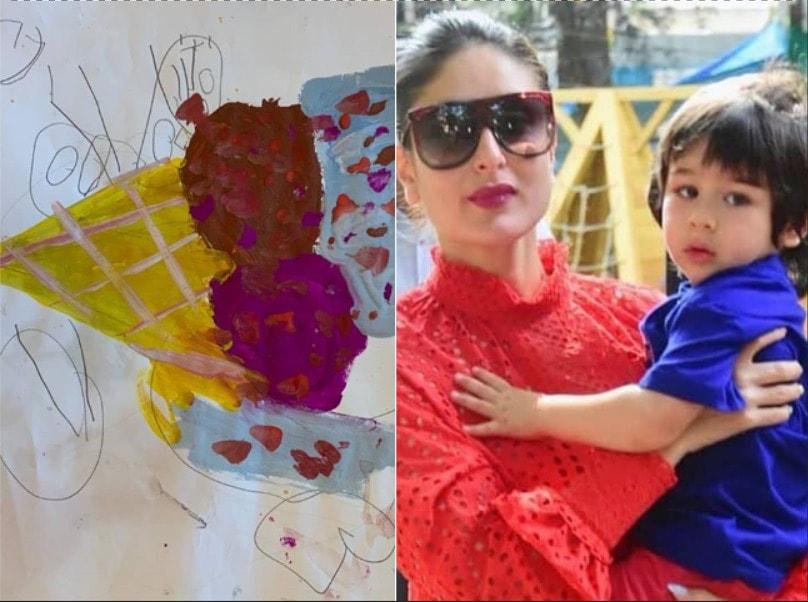 Taimur Ali Khan's 'QuaranTim Diaries': Mom Kareena Kapoor Khan heaps praise on son's artwork, calls him their 'in-house Picasso' #TaimurAliKhan #KareenaKapoorKhan