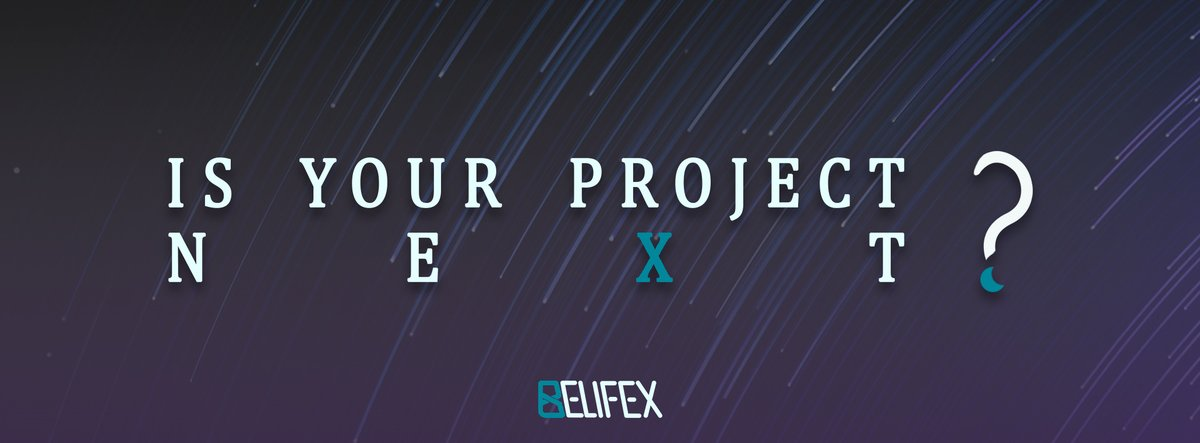 Do you think your #erc20 project needs to be listed on our #exchange. Quickly go to https://dex-belifex.com/listing-page/ and fill in the form. #BEFX #ETH #USDC #USDT #decentralizetrust #token.pic.twitter.com/4qzFmOrm7f
