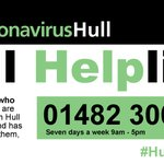Image for the Tweet beginning: The #HullHelpline and online form