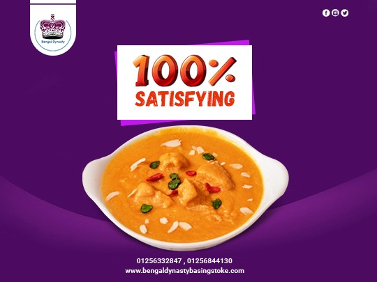 The exciting aromas of Indian food are a guarantee that your dining experience at home will be 100% satisfying.   Facebook: https://facebook.com/bengaldynastyuk  #bengaldynasty #basingstoke #hants #foodies #indianfood #indianrestaurant #unitedkingdompic.twitter.com/JYlHFbH7P1