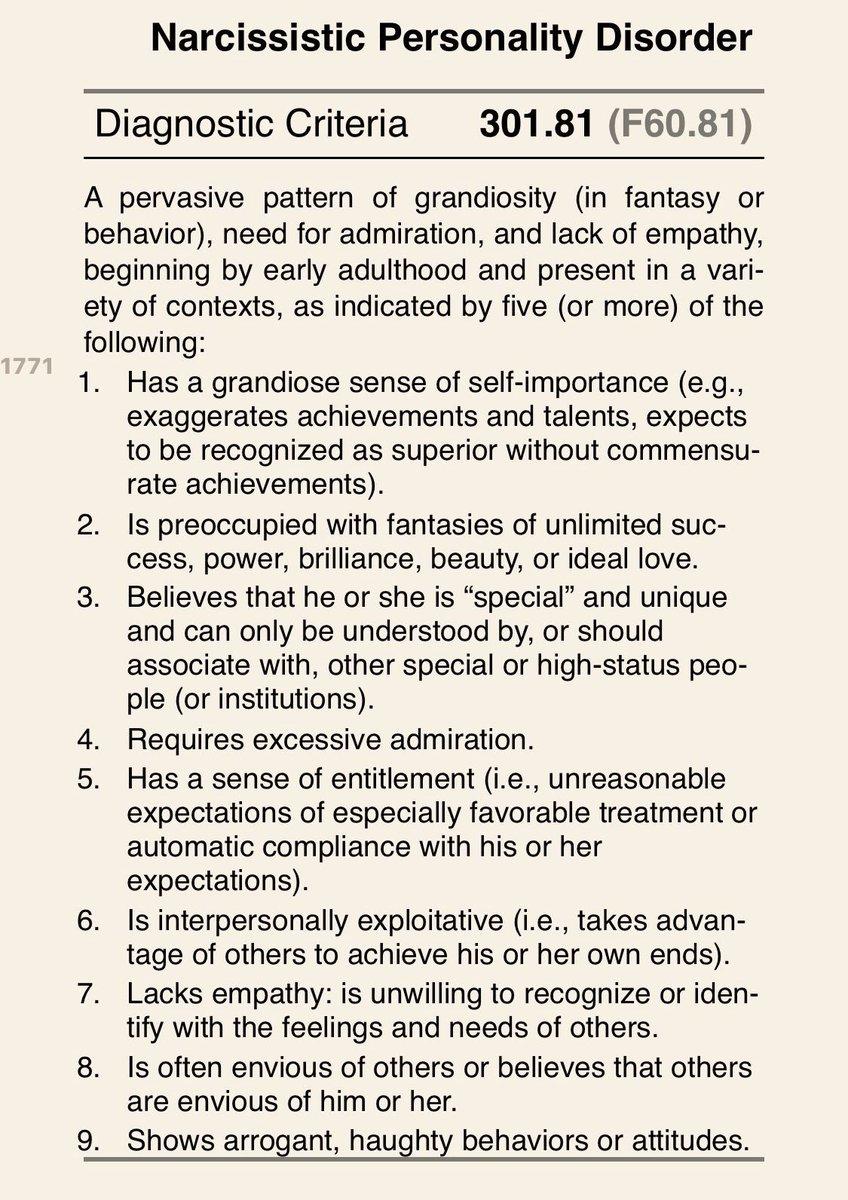 @psocialbuterfly @TravisAllen02 Pathological Narcissist