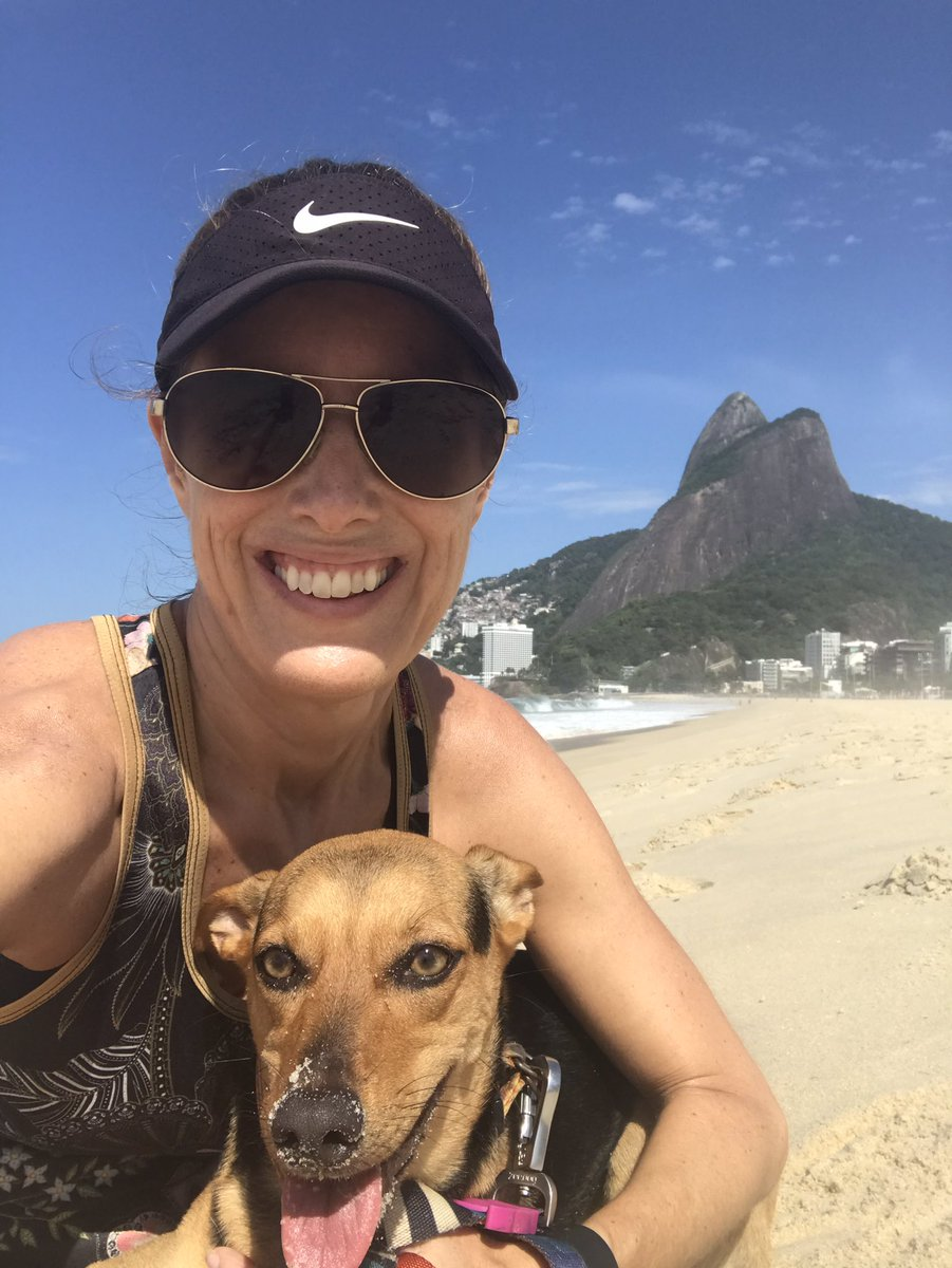 Grateful to Lua, our beautiful Carioca dog, for being such a great companion during this quarantine in Rio and for giving me a reason to go outside every day and breathe some fresh air! #Covid_19 #Quarantine #RioDeJaneiro #EmptyBeach #CidadeMaravilhosapic.twitter.com/K9ZrN3JTg9